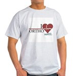 I Heart Ortho - Grey's Anatomy Light T-Shirt