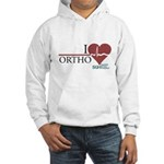 I Heart Ortho - Grey's Anatomy Hooded Sweatshirt