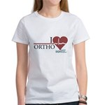 I Heart Ortho - Grey's Anatomy Women's T-Shirt