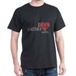 I Heart Ortho - Grey's Anatomy Dark T-Shirt