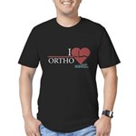 I Heart Ortho - Grey's Anatomy Men's Fitted T-Shirt (dark)