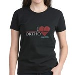 I Heart Ortho - Grey's Anatomy Women's Dark T-Shirt