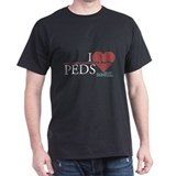 I Heart Peds - Grey's Anatomy T-Shirt