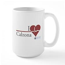 I Heart Calzona - Grey's Anatomy Large Mug