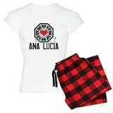 I Heart Ana Lucia - LOST pajamas