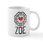 I Heart Zoe - LOST Mug