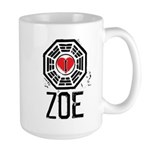 I Heart Zoe - LOST Large Mug