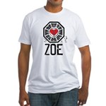 I Heart Zoe - LOST Fitted T-Shirt