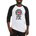 I Heart Zoe - LOST Baseball Jersey