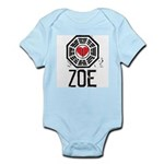 I Heart Zoe - LOST Infant Bodysuit