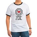 I Heart Zoe - LOST Ringer T