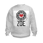 I Heart Zoe - LOST Kids Sweatshirt