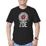 I Heart Zoe - LOST Men's Fitted T-Shirt (dark)