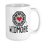 I Heart Widmore - LOST Large Mug