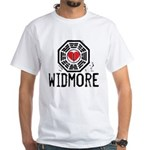 I Heart Widmore - LOST White T-Shirt