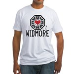 I Heart Widmore - LOST Fitted T-Shirt