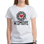 I Heart Widmore - LOST Women's T-Shirt