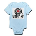 I Heart Widmore - LOST Infant Bodysuit