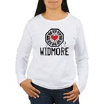 I Heart Widmore - LOST Women's Long Sleeve T-Shirt