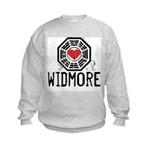 I Heart Widmore - LOST Kids Sweatshirt
