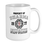 Property of Dharma - Staff Large Mug