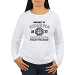 Property of Dharma - Staff Women's Long Sleeve T-Shirt