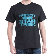 Blue Property Star Trek - TOS T-Shirt