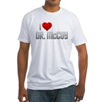 I Heart Dr. McCoy Fitted T-Shirt