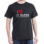 I Heart Dr. McCoy Dark T-Shirt