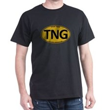 Star Trek: TNG Gold Oval T-Shirt