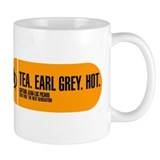 Tea. Earl Grey. Hot. Small Mug