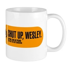 Shut Up Wesley Small Mug
