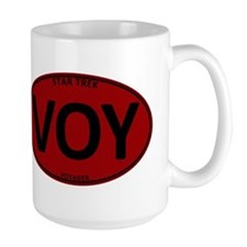 Star Trek: VOY Red Oval Mug