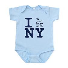I'm Just OK with NY Infant Bodysuit