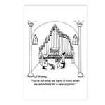 Not The Organist We Wanted Postcards (Package of 8