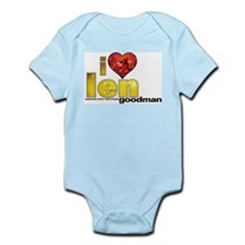 I Heart Len Goodman Infant Bodysuit