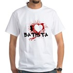I Heart Batista White T-Shirt