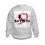 I Heart Batista Kids Sweatshirt
