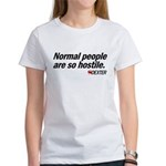 Normal People... - Dexter Women's T-Shirt