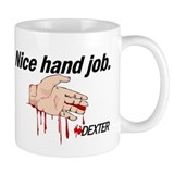 Nice Hand Job - Dexter Small Mug