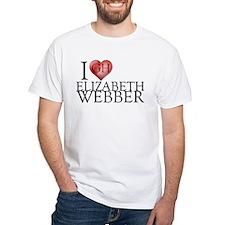 I Heart Elizabeth Webber White T-Shirt