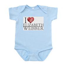 I Heart Elizabeth Webber Infant Bodysuit