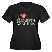 I Heart Elizabeth Webber Women's Plus Size V-Neck