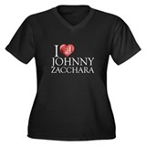 I Heart Johnny Zacchara Women's Plus Size V-Neck D