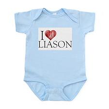 I Heart Liason Infant Bodysuit