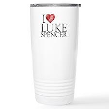 I Heart Luke Spencer Stainless Steel Travel Mug