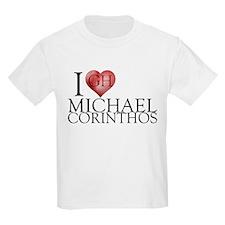 I Heart Michael Corinthos Kids Light T-Shirt