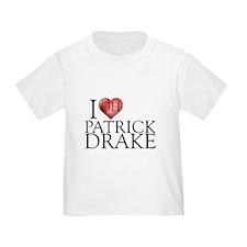 I Heart Patrick Drake Infant/Toddler T-Shirt