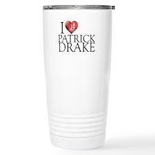 I Heart Patrick Drake Stainless Steel Travel Mug