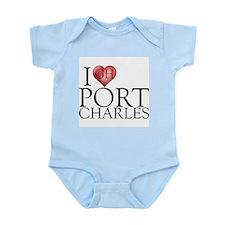 I Heart Port Charles Infant Bodysuit